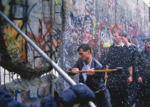 Twenty-five years ago last week, the Berlin Wall fell.