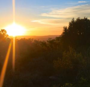 Monticello College Sunrise
